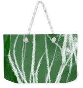 Agave- Abstract Art By Linda Woods Weekender Tote Bag
