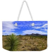 Agave And The Mountains 3 Weekender Tote Bag