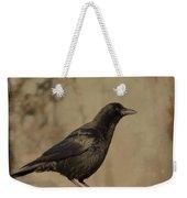 Age Old Crow  Weekender Tote Bag
