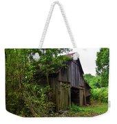 Aged Wood Barn Weekender Tote Bag