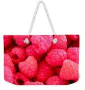 Agenda For Today ... Raspberry Jam Weekender Tote Bag