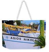 Agios Nikolaos Weekender Tote Bag
