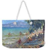 Agrilesa Beach Athens  Weekender Tote Bag