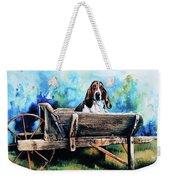 Ah Pooey Weekender Tote Bag by Hanne Lore Koehler