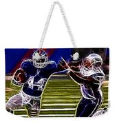 Ahmad Bradshaw Weekender Tote Bag by Paul Ward