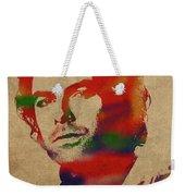 Aidan Turner As Poldark Watercolor Portrait Weekender Tote Bag