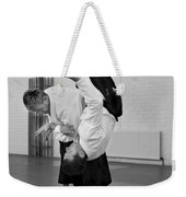 Aikido Up And Down Weekender Tote Bag
