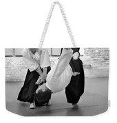 Aikido Wrist Lock  Weekender Tote Bag