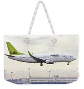 Air Baltic Boeing 737-300 Weekender Tote Bag