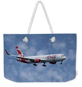 Air Canada Rouge Boeing 767-333 1 Weekender Tote Bag