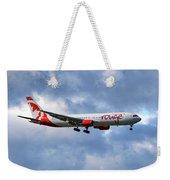 Air Canada Rouge Boeing 767-35h 118 Weekender Tote Bag