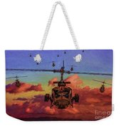 Air Cavalry Bell Uh-1 Huey  Weekender Tote Bag