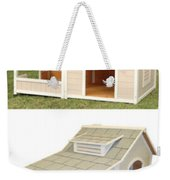 Air Conditioned Dog Houses Weekender Tote Bag