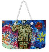 Air Force Day Of The Dead Weekender Tote Bag