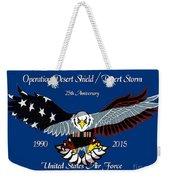 Air Force Desert Storm Weekender Tote Bag