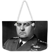 Air Force General Curtis Lemay  Weekender Tote Bag by War Is Hell Store