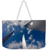 Air Force Memorial Weekender Tote Bag by Louise Heusinkveld