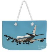 Air Force One On Final Approach Into Charleston South Carolina Weekender Tote Bag