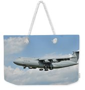 Air Force Plane Weekender Tote Bag