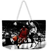 Air Jordan On Shaq Weekender Tote Bag