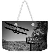 Air Mail Delivery Maine Style Weekender Tote Bag