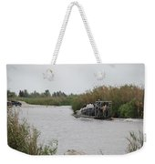 Airboat Rides 25 Cents Weekender Tote Bag