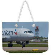 Airbus A319  On Taxi Weekender Tote Bag