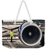 Airbus Engine Weekender Tote Bag by Stelios Kleanthous