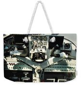 Aircraft Airplane Control Panel Weekender Tote Bag