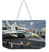 Aircraft Planes F18 Cat Weekender Tote Bag