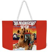 Airedale Terrier Art Canvas Print - The Magnificent Seven Movie Poster Weekender Tote Bag