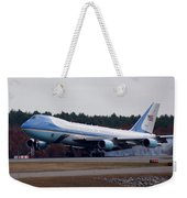 Airforce One Weekender Tote Bag