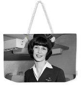 Airline Stewardess Weekender Tote Bag