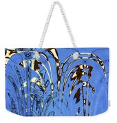 Airplane And Crane Abstract Weekender Tote Bag