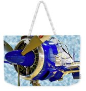 Airplane Propeller And Engine T28 Trojan 02 Weekender Tote Bag
