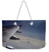 Airplane Wing In Clouds Weekender Tote Bag