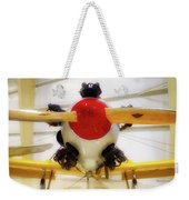 Airplane Wooden Propeller And Engine Pt 22 Recruit 02 Weekender Tote Bag