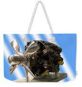 Airplanes Prop And Engine Weekender Tote Bag
