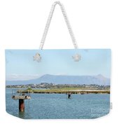airport on Corfu island Greece Weekender Tote Bag