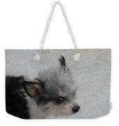 Airport Pup Weekender Tote Bag