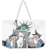 Airport Security And Liberty Weekender Tote Bag