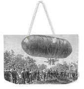 Airship Ascent, 1883 Weekender Tote Bag