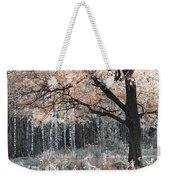 Airy Autumn In Woods Weekender Tote Bag