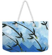 Airy Eight Of Wands Illustrated Weekender Tote Bag