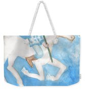 Airy Knight Of Wands Weekender Tote Bag