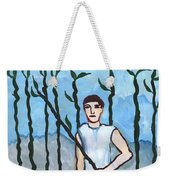 Airy Nine Of Wands Illustrated Weekender Tote Bag