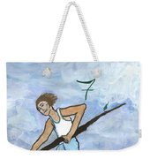Airy Seven Of Wands Illustrated Weekender Tote Bag