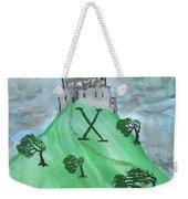 Airy Ten Of Wands Illustrated Weekender Tote Bag