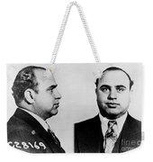 Al Capone Weekender Tote Bag