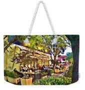 Al Fresco Dining Weekender Tote Bag by Chuck Staley